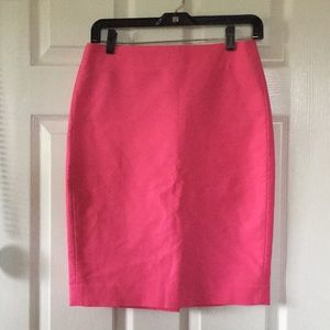 J. Crew | NWT Bright Pink Pencil Skirt